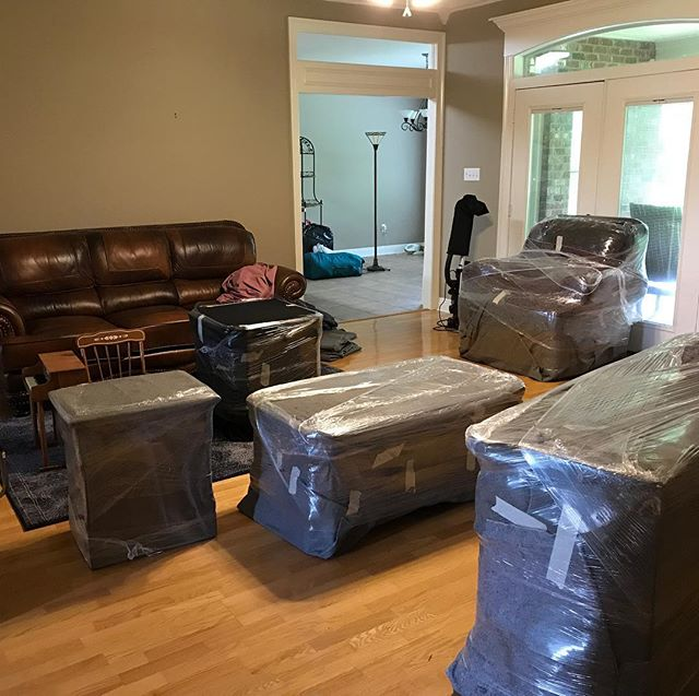 Preparing furniture for move