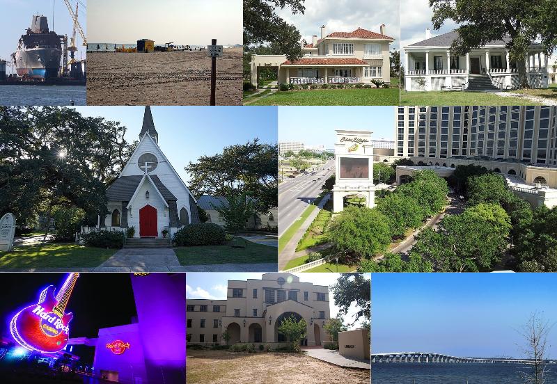 Mississippi Gulf Coast Areas